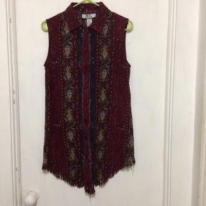 Dresses & Skirts - Nice by Sag Harbor womans S Boho sl rayon dress